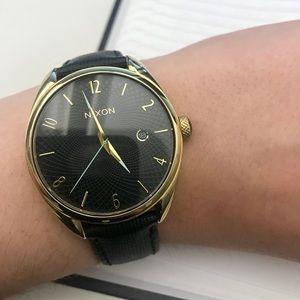 Nixon Women's Bullet Leather Watch